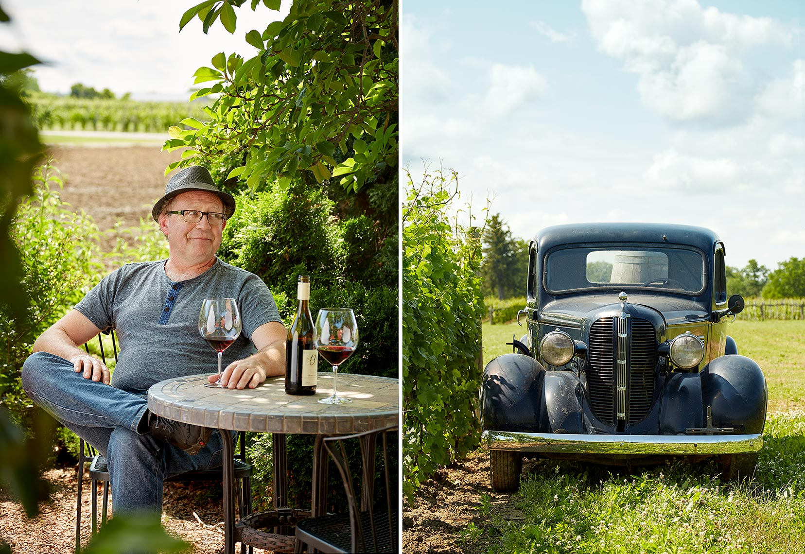Lifestyle Photography Toronto Car Winery Portrait