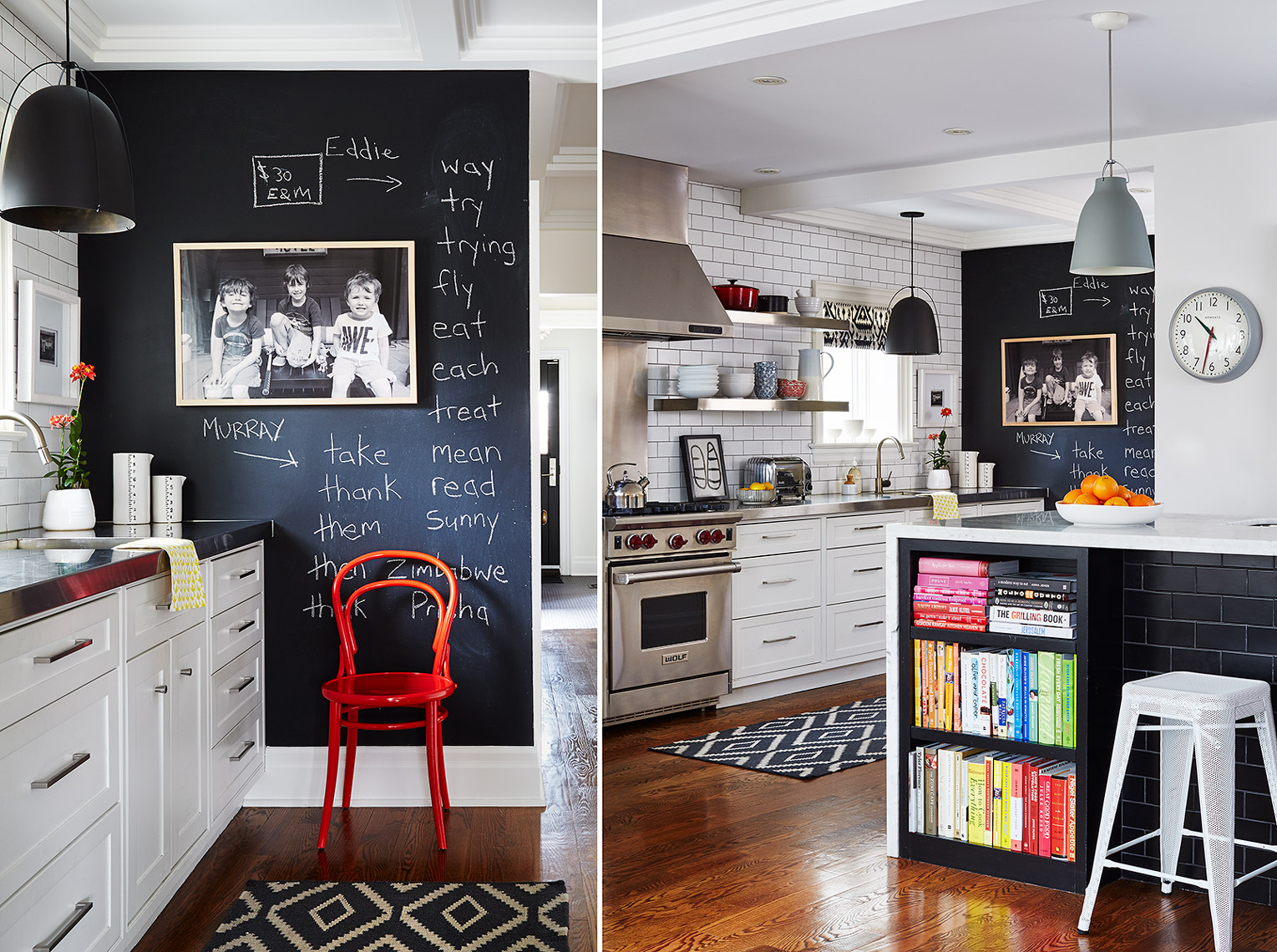 Interior Photography Toronto Kitchen Chalkboard