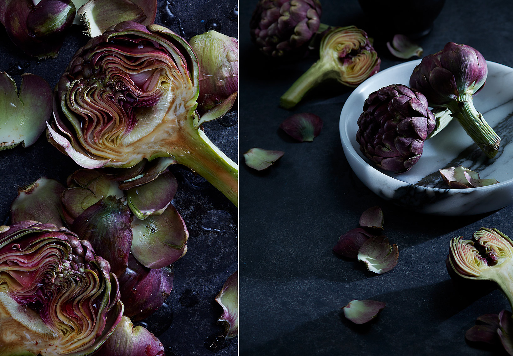 Food Photography Toronto Artichokes