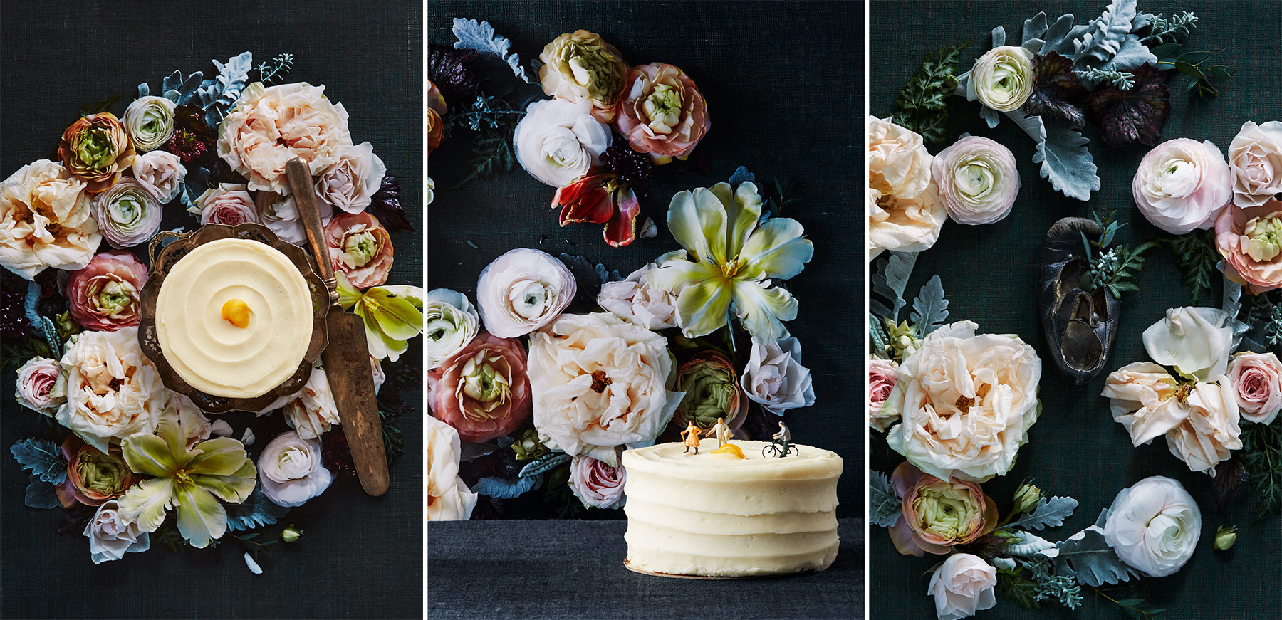 Food Photography Toronto Cake Flowers