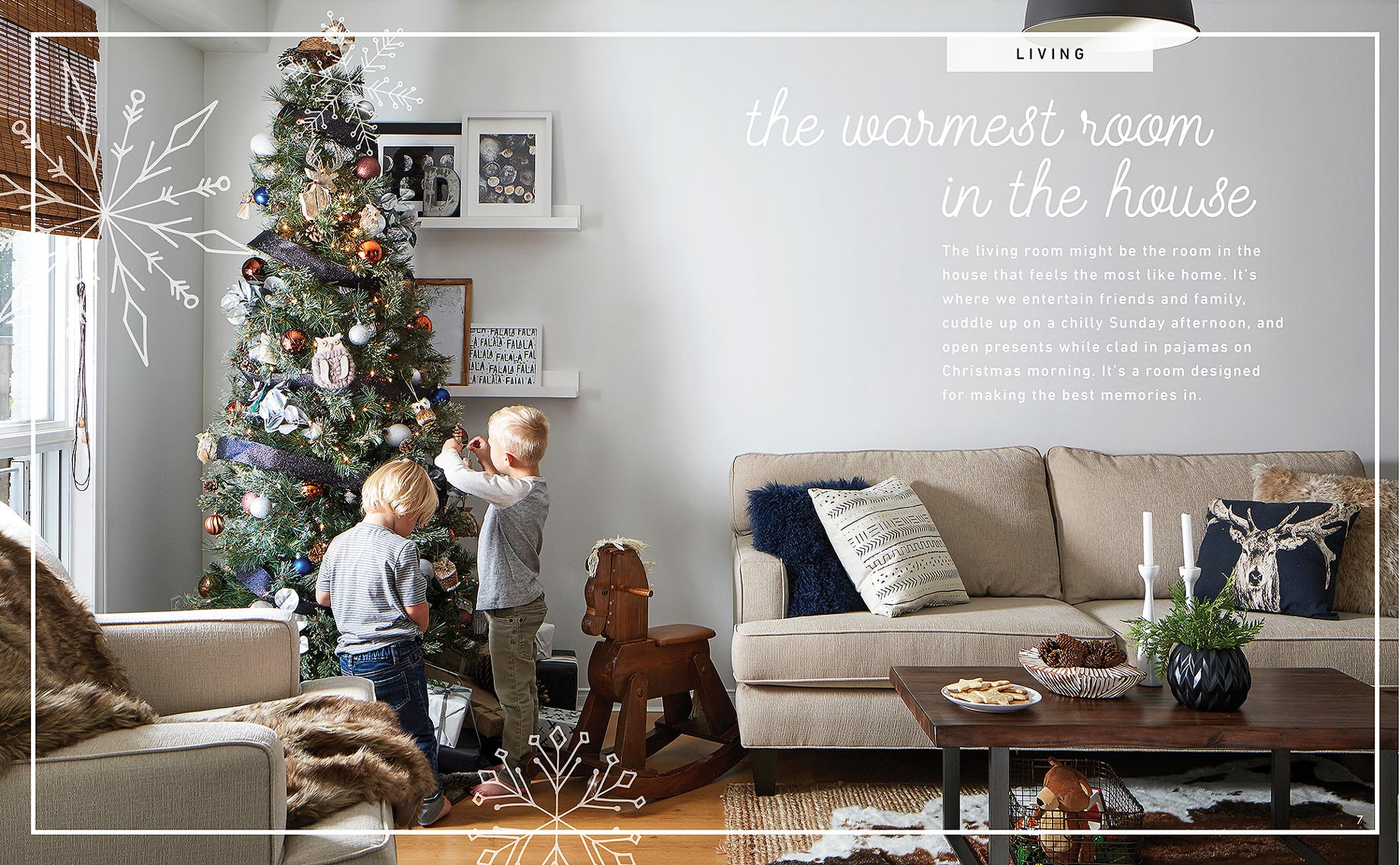Lifestyle Photography Toronto Kids Tree