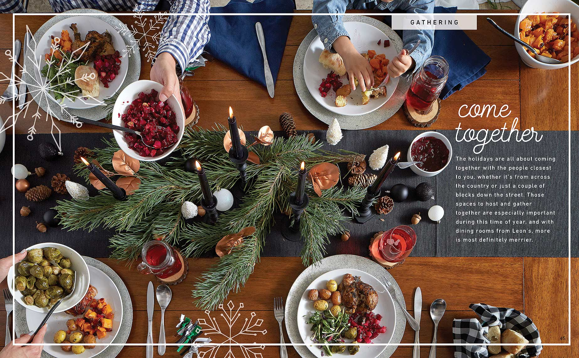 Lifestyle Photography Toronto Holiday Table
