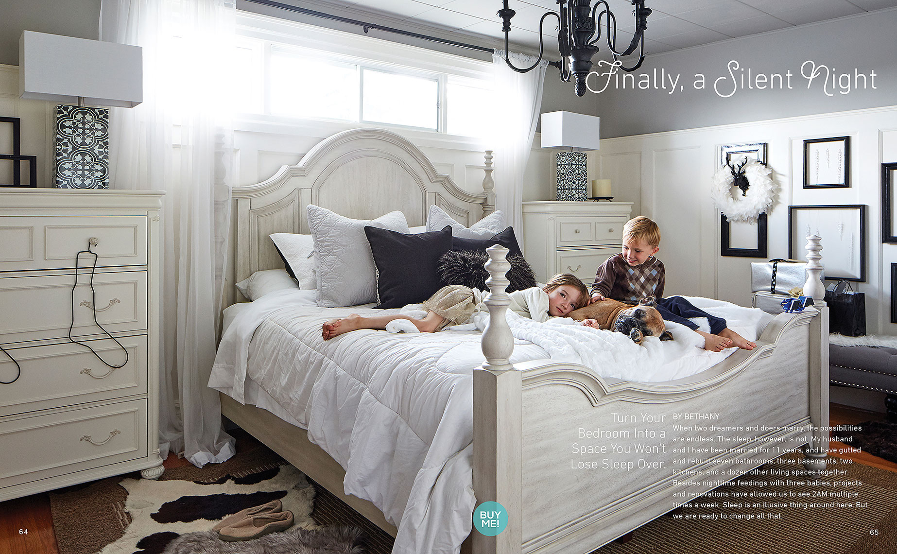 Lifestyle Photography Toronto Kids Bed